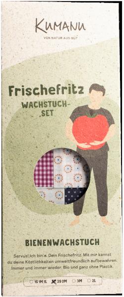 Bienwachstücher 2S 2M Set - KUMANU OG