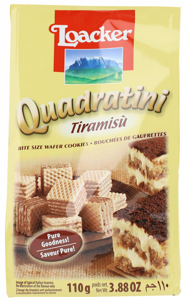 Quadratini Tiramisù - Loacker