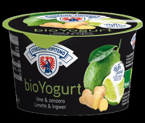 Lime Zenzero Yogurt intero da latte fieno Bio - Milchhof Sterzing