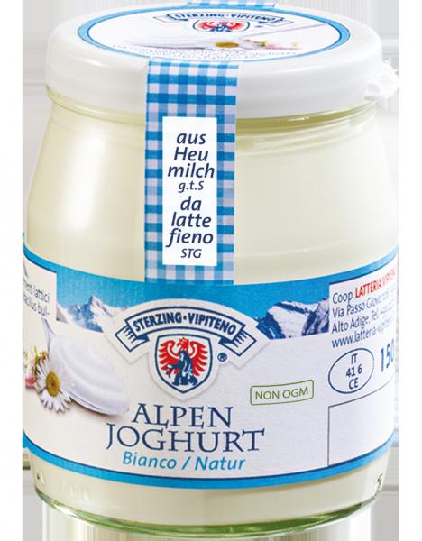 Alpenjoghurt Natur - Milchhof Sterzing