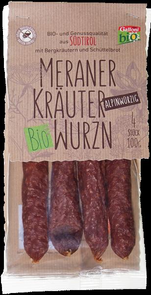 Kräuterwurzen alpinwürzig Bio - Galloni Meran/o