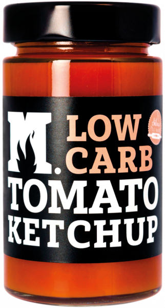 Low Carb Tomato Ketchup - Mannius