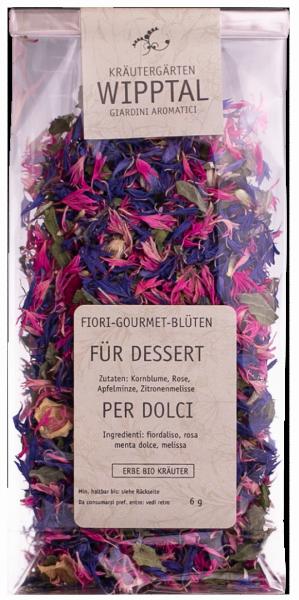 Gourmetblüten Dessert - Kräutergarten Wipptal
