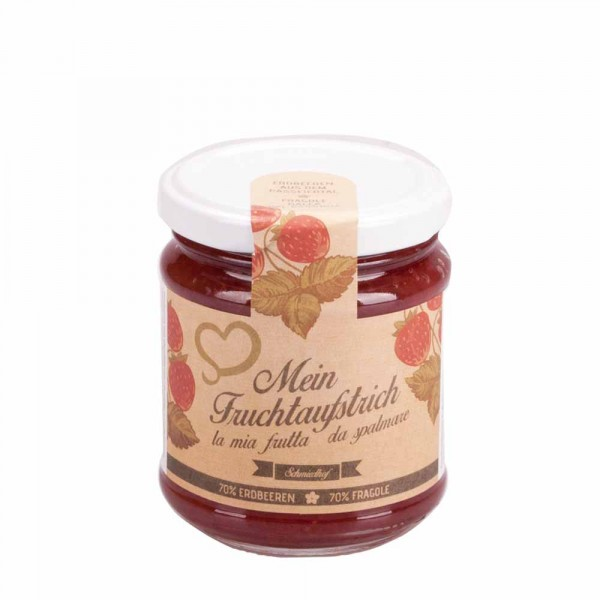 Schmiedhof Fruchtaufstrich Erdbeere 230g