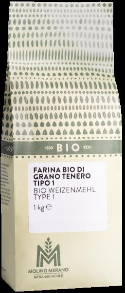 Farina di grano tenero tipo 1 Bio - Meraner Mühle