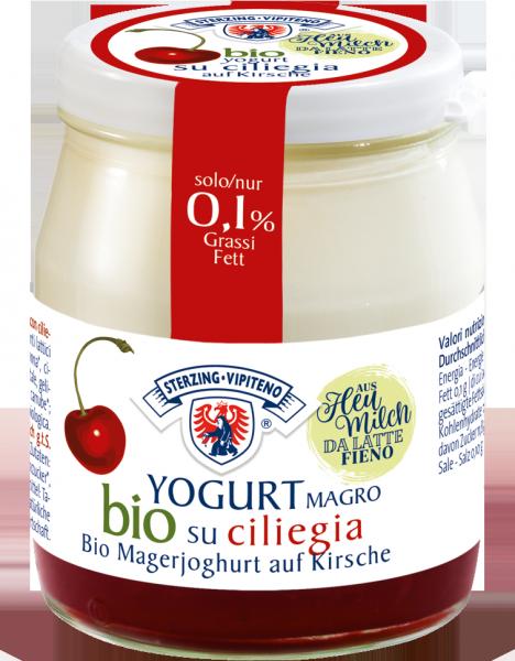Yogurt magro su ciliegia Bio