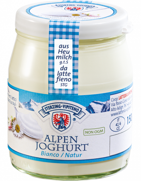 Yogurt delle montagne Bianco - Milchhof Sterzing