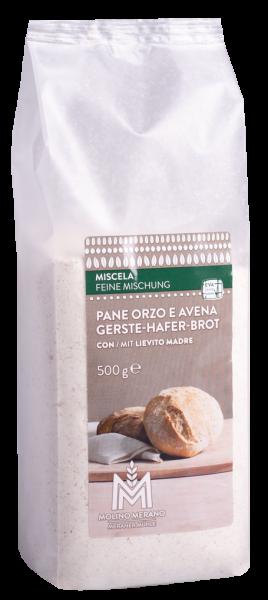Miscela per pane orzo e avena - Meraner Mühle