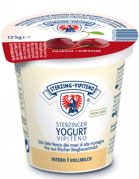 Ciliegia Yogurt intero - Milchhof Sterzing