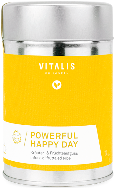 "Infuso di erbe e frutta ""Powerful Happy Day"" - Vitalis Dr. Joseph"