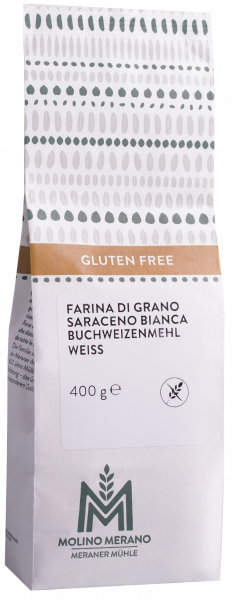 Farina di grano saraceno bianca senza glutine - Meraner Mühle
