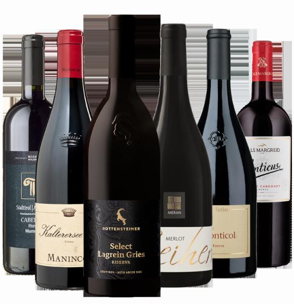"""""""I migliori vini rossi"""" - Meraner Weinhaus"""