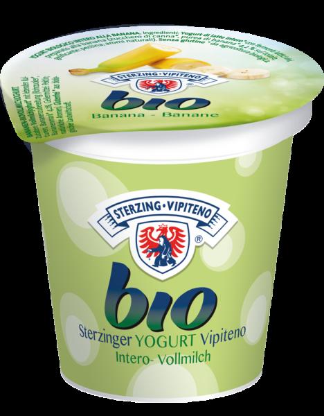 Banana Yogurt intero Bio - Milchhof Sterzing