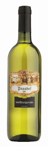 Weissburgunder 2018 - Weingut Popphof