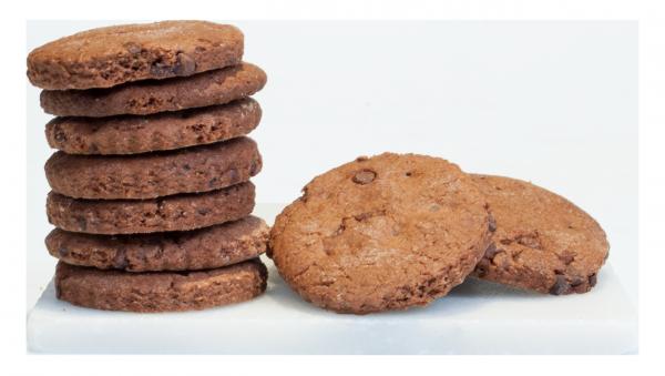 Biscotti al Cioccolato e Cacao Bio