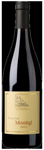 """Pinot Nero Riserva """"Monticol"""" 2015 - Cantina Terlano 2016"""