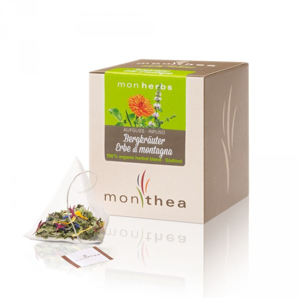 Kräuter Monherbs Teebeutel Bio