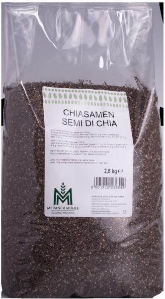 Chia Samen 2.5kg - Meraner Mühle