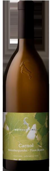 """Pinot Bianco """"Carnol"""" 2019 - Weingut Hans Rottensteiner"""