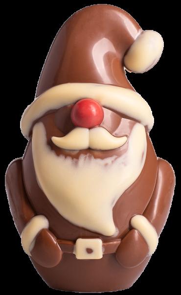Babbo Natale di cioccolato al latte grande - Konditorei Peter