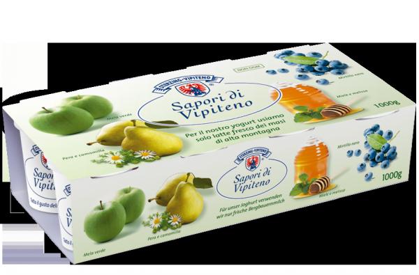 Vollmilchjoghurt Früchte gemischt - Milchhof Sterzing