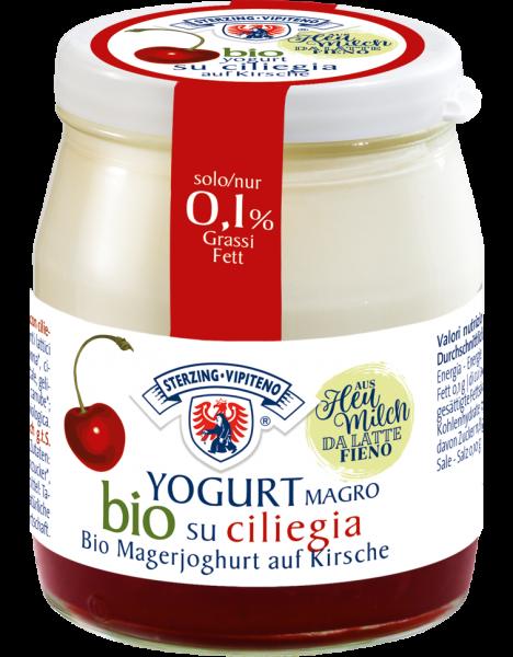 Magerjoghurt auf Kirsche Bio - Milchhof Sterzing