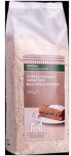 Torta grano saraceno miscela - Meraner Mühle