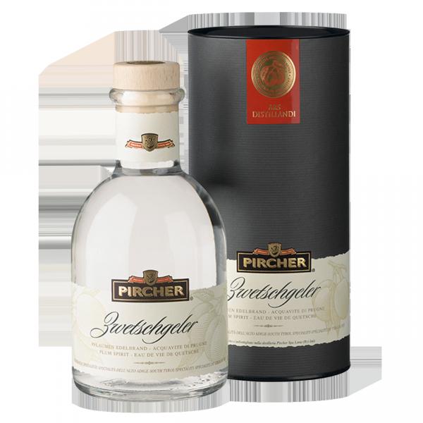 "Brand Zwetschge ""Medizinflasche"" - Pircher Brennerei"