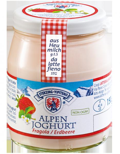 Fragola yogurt delle montagne