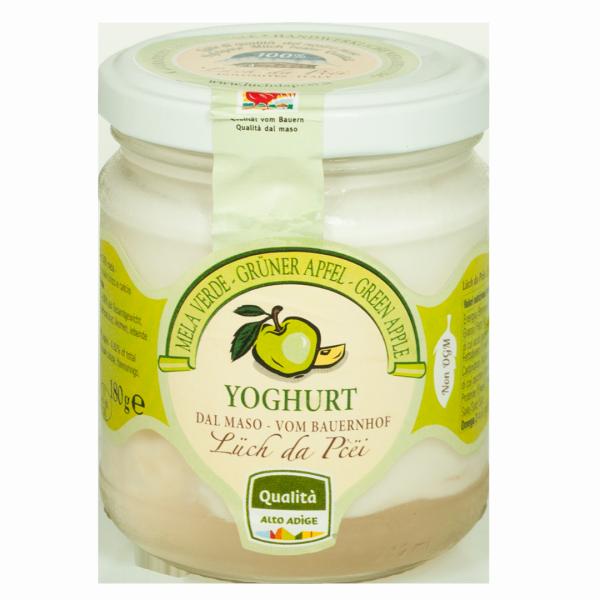 Yogurt alla mela verde dal maso - Lüch da Pcëi