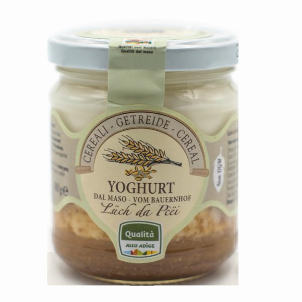 Getreide-Joghurt vom Bauernhof - Lüch da Pcëi