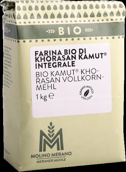 Farina integrale di grano khorasan kamut® Bio - Meraner Mühle