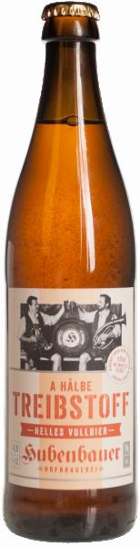 Bier Treibstoff - Brauerei Hubenbauer