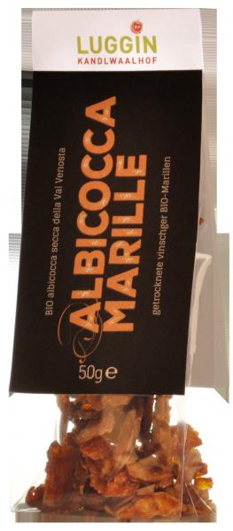 Getrocknete Vinschger Marillen Bio - Luggin