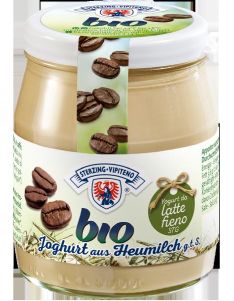 Caffè Yogurt intero da latte fieno Bio
