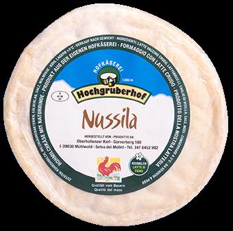 """Formaggio alle Noci """"Nussila"""" a pasta molle - Hochgruberhof"""