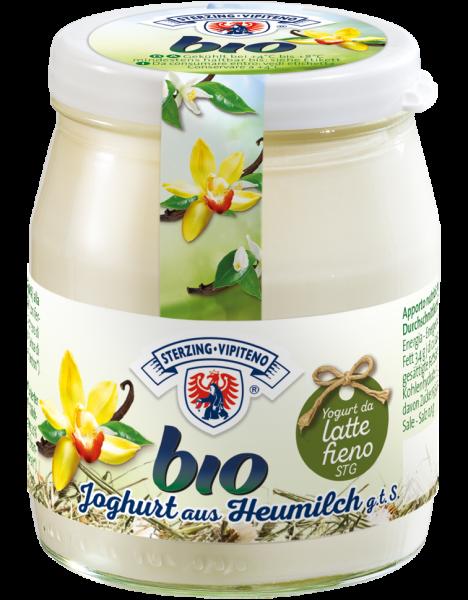 Vanille Vollmilchjoghurt aus Heumilch Bio - Milchhof Sterzing