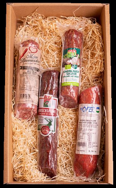 Degustation Salami - Pur Südtirol