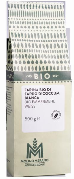 Emmerkornmehl weiß Bio - Meraner Mühle