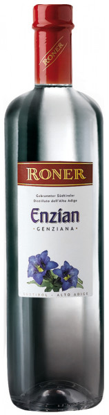 Enzianschnaps aus Südtirol - Roner