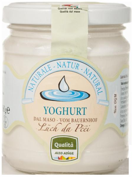 Naturjoghurt vom Bauernhof