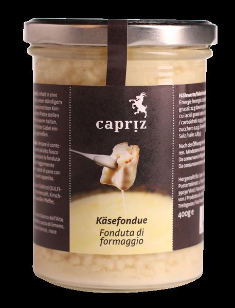 Fonduta di formaggio classica - Capriz Feinkäserei