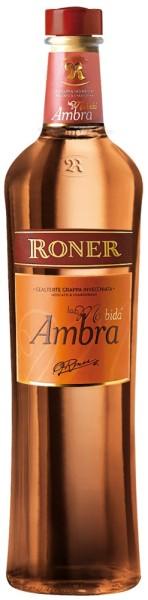 """Grappa """"Ambra La Morbida"""" 12 Monate - Roner"""