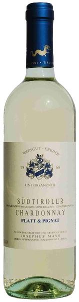 """Chardonnay """"Platt & Pignat"""" 2020 - Weingut Unterganzner"""