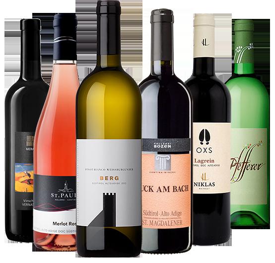 """Vini per la merenda altoatesina"" - Pur Südtirol"
