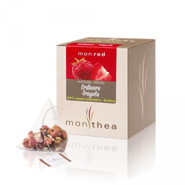 Monred Erdbeere Teebeutel