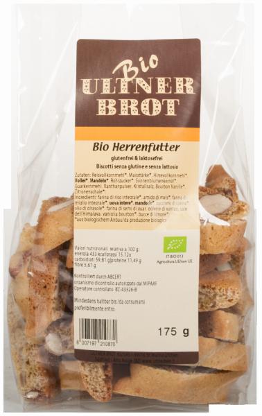 Herrenfutter Glutenfrei Bio - Ultner Brot