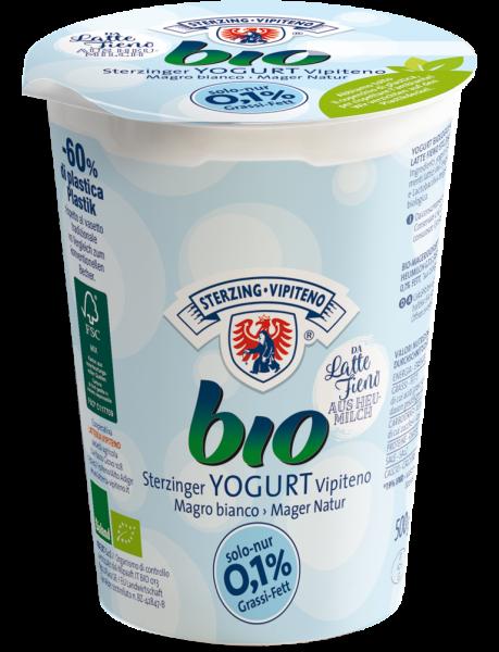 Natur Magermilchjoghurt Bio 500g - Milchhof Sterzing