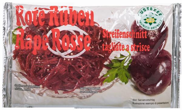 Rote Rüben Streifenschnitt - Saatbaugenossenschaft Pustertal