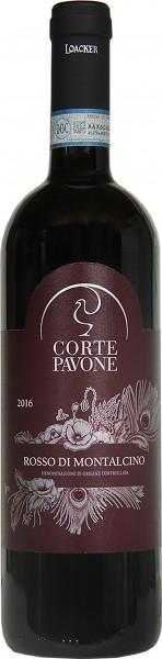 """Rosso di Montalcino """"Corte Pavone"""" 2016"""